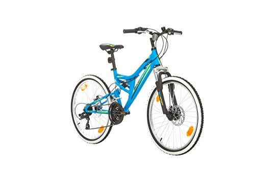 BIKE SPORT LIVE ACTIVE 24 Zoll Bikesport Direction Jugend Fahrrad Jungenfahrrad Kindefahrrad Kinderrad Mädchenfahrrad, Shimano 21 Gang (blau matt)