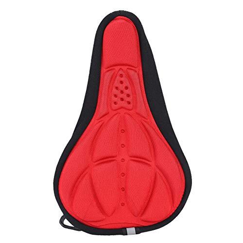 VGEBY1 Sattelüberzug, Sitzpolster aus Schaumstoff Sattelüberzug für Mountain Road Bikes(rot)