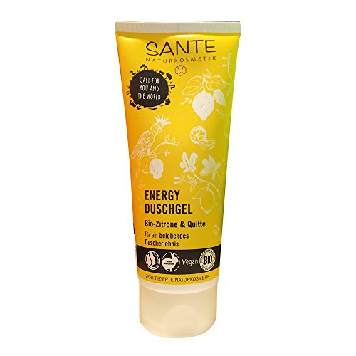 Sante Duschgel Energy Zitrone & Quitte (200ml Tube)
