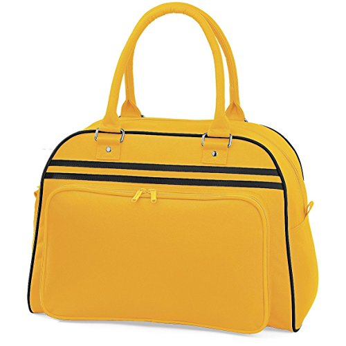 Retro Bowling Bag von BagBase - 7 Farben Avilable - French Navy/White -