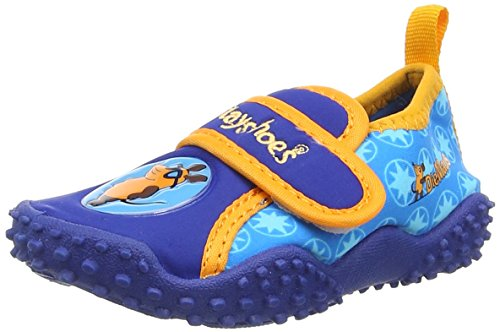 Playshoes DIE MAUS UV-Schutz Badeschuhe DIE MAUS 174701, Jungen Aqua Schuhe, Blau (original 900), 24/25 EU