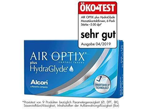 Air Optix HydraGlyde Monatslinsen weich, 6 Stück / BC 8.6mm / DIA 14.2 / -6.75 Dioptrien