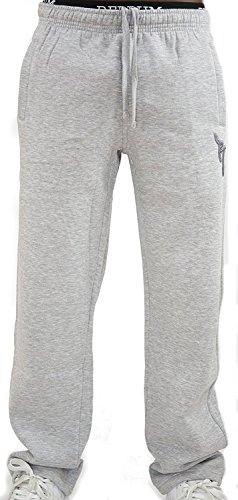 REDRUM Jogginghose Casual Streetwear Modell Bronx (Grau/Anthrazit, Größe M)