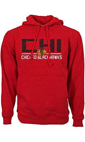 Levelwear NHL CHICAGO BLACKHAWKS Scoreboard Pullover, Größe :S