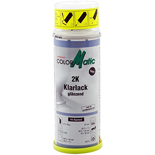 ColorMatic 187216 2K Klarlack mit Härter, 200 ml