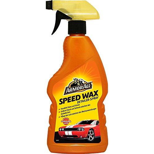ARMOR ALL 44500L Speed Wax Spray, 500 ml