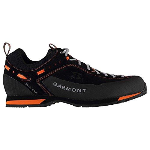 GARMONT Dragontail Herren Wanderschuhe Wasserdicht Outdoor Schuhe Schwarz/Orange 8 (42)