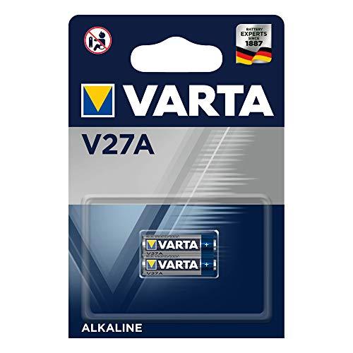 VARTA Batterien Alkaline Knopfzelle V27A Knopfzellen (2er Pack, in Original Blisterverpackung)