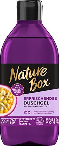 Nature Box Erfrischendes Duschgel mit Passionsfrucht-Duft, 250 ml