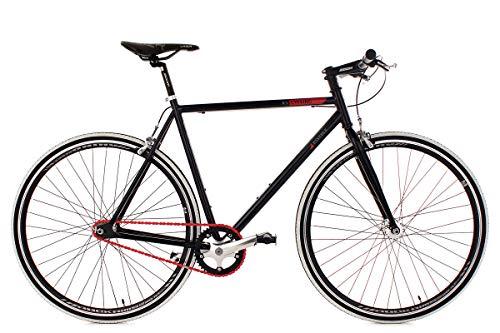 KS Cycling Fixie Fitness-Bike Single Speed 28'' Essence schwarz RH59cm