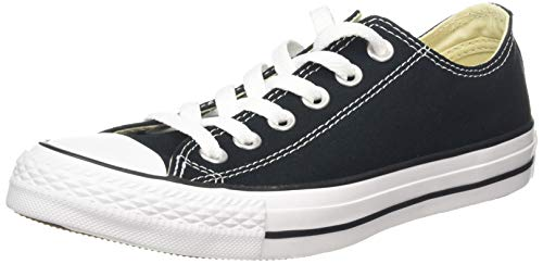 CONVERSE Chuck Taylor All Star Seasonal Ox, Unisex-Erwachsene Sneakers, Schwarz-Weiss(Black/White), 44 EU