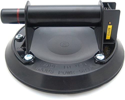 2er Set Wood's Powr-Grip N4000 Saugheber Glasheber Mit Handpumpe, 203mm Saugfläche, Sicherungsring Und Lexan Griff Power Grip - MADE IN USA