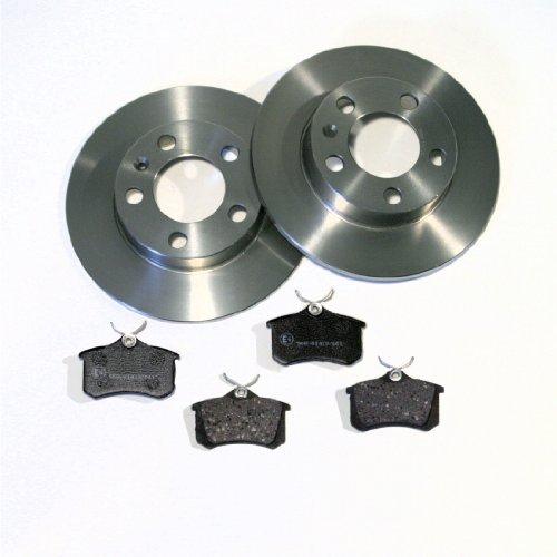 Bremsscheiben Bremsen + Bremsbeläge für hinten/die Hinterachse