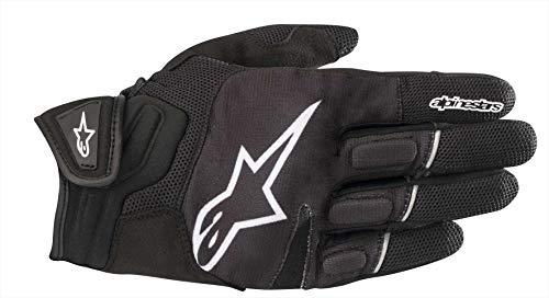 Alpinestars Motorradhandschuhe Atom Gloves Black White, Schwarz/Weiss, XL