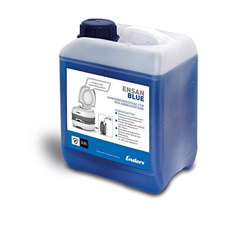 Sanitärflüssigkeit für Campingtoilette, Blue 5 Liter: Abwasser-Zusatz für den Camping Abwasser-Tank