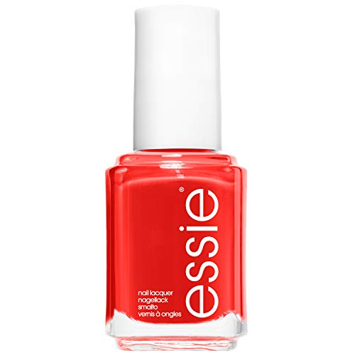 essie Nagellack Gel Effekt Helles Rot ohne UV too too hot Nr. 63, 1er Pack (1 x 13,5 ml)