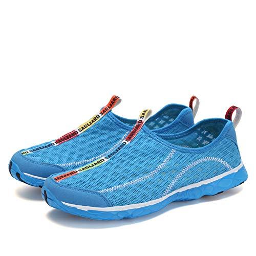 Wasserschuhe,Aqua Schuhe Sommer Wasser Schuhe des Typs Espadrilles Atmungsaktiv Vordere Schuhe Schwimmen Surfen Dving Sandalen Socken