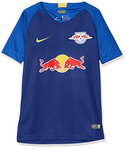 Nike Kinder RB Leipzig Breathe Stadium Away T-Shirt, Deep Royal Blue/Tour Yellow, S