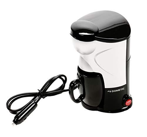 Kaffeemaschine für eine Tasse, 24 Volt 250 Watt, für LKW, PKW, Boot etc. mit Kaffeebecher, Dauerfilter, Thermostat, Überhitzungsschutz, Montage-Set, Perfectcoffee MC 01