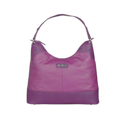 Aigner Damen Leder Handtasche fuchsia
