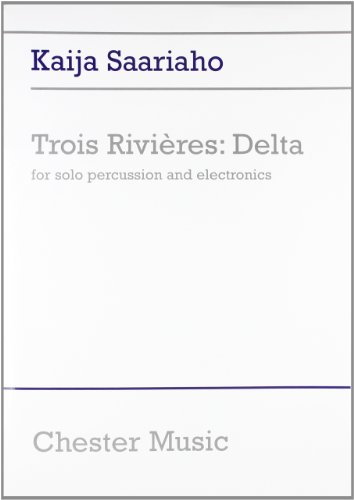 Trois Rivieres Delta -For Solo Percussion-: Noten, Stimmensatz für Percussion: Trios Rivieres - Delta, Score and Parts