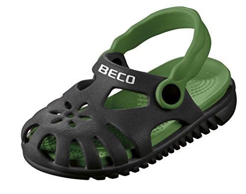 Beco Unisex-Kinder Kindersandalen-90026 Slingback Sandalen, Schwarz (Schwarz 0), 25 EU