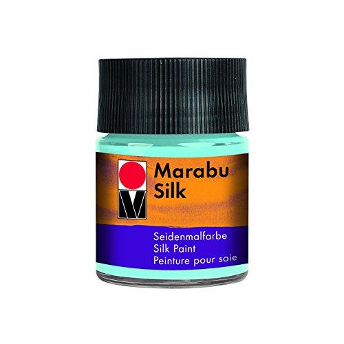 Marabu Jar 50ml, Seide Farbe, Arktisblau, 5 x 5 x 7.7 cm