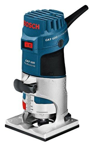 Bosch Professional GKF 600 Professional Kantenfräse im Handwerkerkoffer