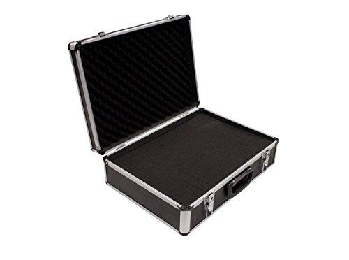 PeakTech 7310 – Universal Koffer für Messgeräte, Robuster Tragekoffer, Werkzeug Aufbewahrung, Würfelschaum Platten, Schaumstoff Polsterung, Abschließbar, Staubschutz, XL - 460 x 330 x 150 mm
