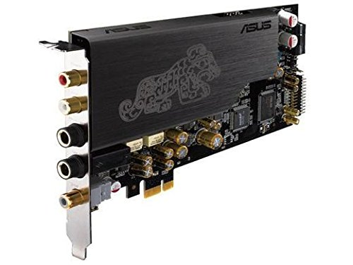 Asus Essence STX II Soundkarte (Kopfhörer-Verstärker bis zu 600 Ohm, 124dB (SNR), austauschbare OP-Amps)