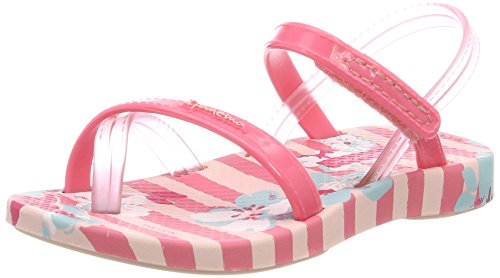 Ipanema Baby Mädchen Fashion VI Sand Sandalen, Mehrfarbig (Pink), 21 EU