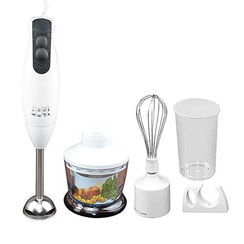 WMC 450W Elektro-Handmixer Entsafter Fleischwölfe Stabmixer Schneebesen Multifunktionales praktisches Mixer Set für die Küche