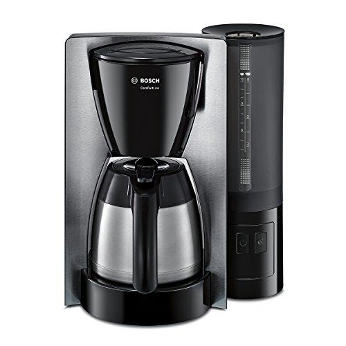 Bosch TKA6A683 Kaffeemaschine ComfortLine, Thermokanne, 1200 W, edelstahl/schwarz