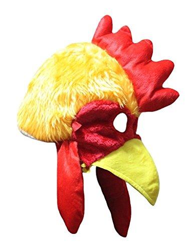 Petitebelle Halloween-Kostüm Tiere Hut Unisex-Kleidung Freie Größe Einheitsgröße Orange Huhn