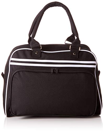 BagBase Retro Bowling Bag 1er Pack Black / White