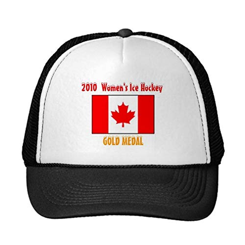 Four Seasons SHOP Funny 2010 Canada Women's Ice Hockey - Gold Medal Trucker Hat