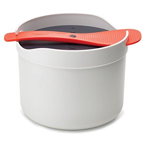Joseph Joseph M-Cuisine - Mikrowellen Reis- und Getreidekocher - schwarz/weiß