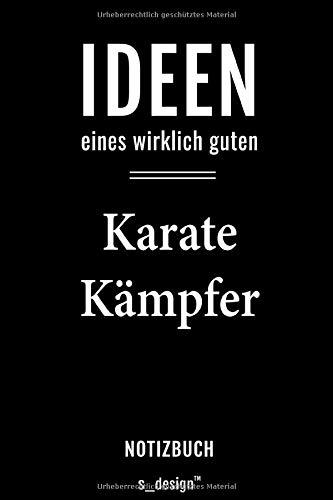 Notizbuch für Karate Kämpfer: Originelle Geschenk-Idee [120 Seiten weisses blanko Papier]