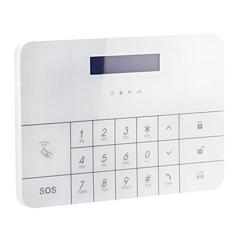 LCD Drahtlos Alarmsystem PG100 GSM Funk Alarmanlage Haus Wireless von Kobert-Goods