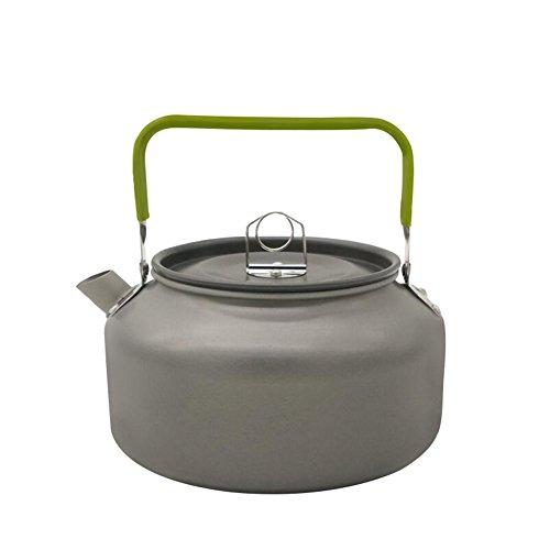 SK Studio Leicht Camping Kochgeschirr Wasserkocher Teekanne Kaffeekanne Outdoor Aluminium Campinggeschirr 1.2L
