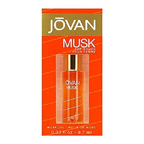 Jovan Musk Perfume Oil, 1er Pack (1 x 9.7ml)