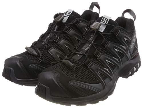 Salomon Herren Trail Running Schuhe, XA PRO 3D, Farbe: schwarz (Black/Magnet/Quiet Shade) Größe: EU 44