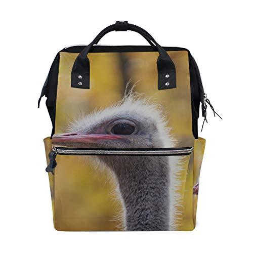 Verwirrt Strauß Wüste große Kapazität Wickeltaschen Mama Rucksack Multi Funktionen Windel Pflege Tasche Tote Handtasche für Kinder Babypflege Reisen täglich Frauen
