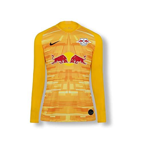 RB Leipzig Goalkeeper Trikot 19/20, Gelb Youth Large T Shirt, RasenBallsport Leipzig Sponsored by Red Bull Original Bekleidung & Merchandise