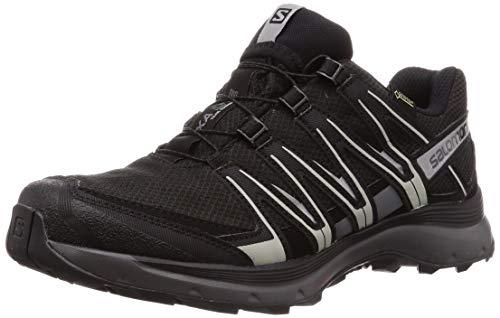 Salomon Herren Trail Running Schuhe, XA LITE GTX, Farbe: schwarz (Black/Quiet Shade/Monument) Größe: EU 44 2/3