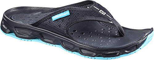 Salomon Damen RX Break Flipflops, dunkelblau/blau (night sky/night sky/blue curacao), Gr. 40