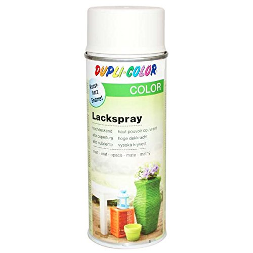 Dupli-Color 440755 Lackspray cremeweiß matt 400 ml