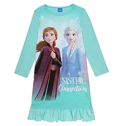 Disney Mädchen Die Eiskönigin, Frozen, Nachthemd, blau, Größe 104, 4 Jahre
