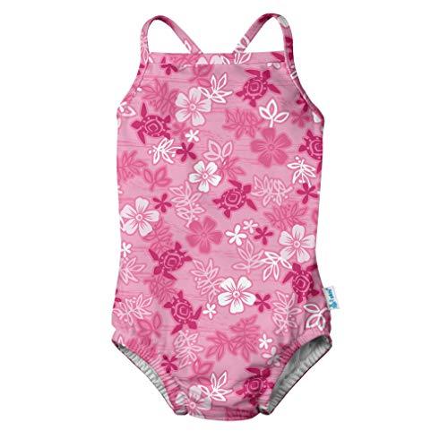 I-Play Badeanzug Schwimmwindel, Pink Turtle