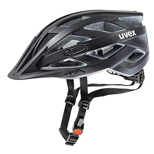 uvex Unisex– Erwachsene, i-vo cc Fahrradhelm, black mat, 56-60 cm
